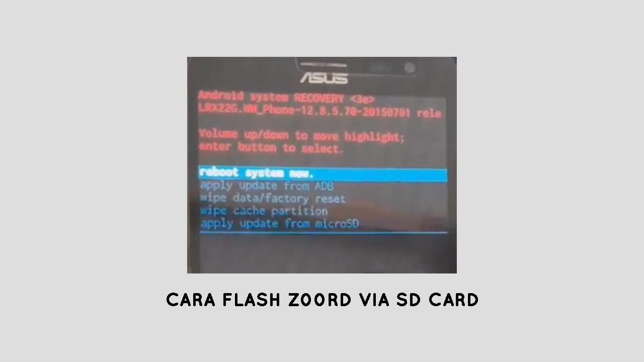 flashing firmware asus zenfone 2 via sd card