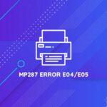 error e04 canon mp287