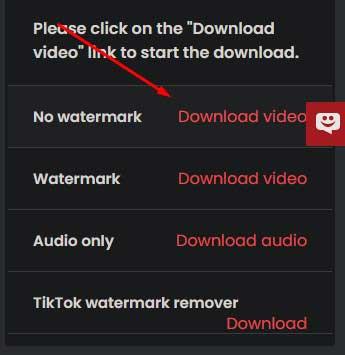 Tombol Download Ttdownloader